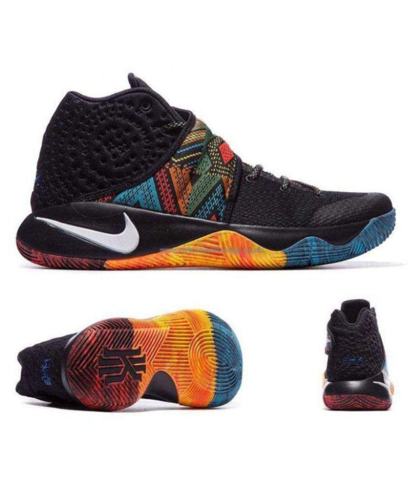 timeless design a68ac 57ce2 Nike kyrie 2 BHM Black Basketball Shoes