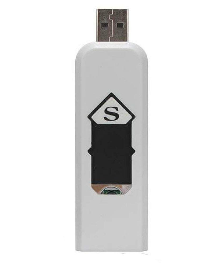 Jack USB Lighter White Pack of Pack of 1