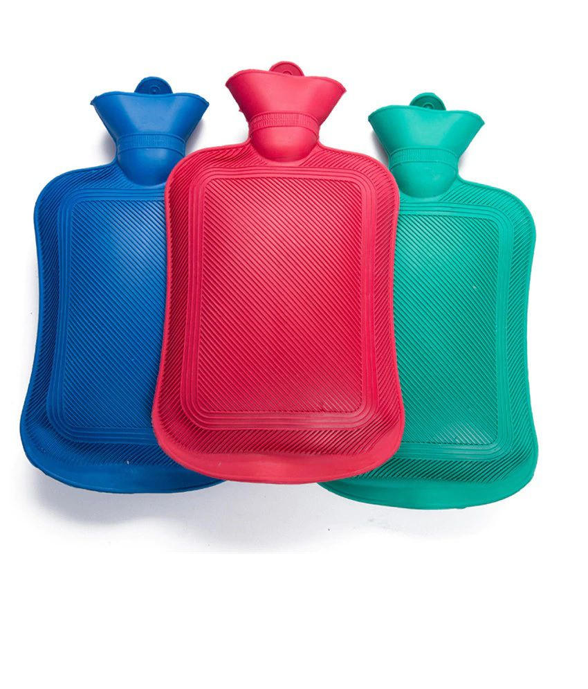 Safe and Touch Pain Relief Hot Water Bag Pack of 3(Color May Vary)