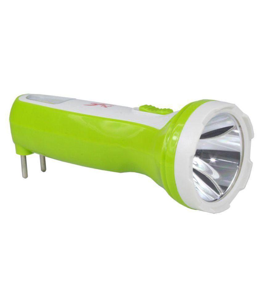 Ridhim 10W Flashlight Torch - Pack of 1