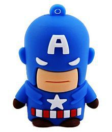 Pankreeti PKT437 Captain America 64GB USB 2.0 Fancy Pendrive Pack of 1