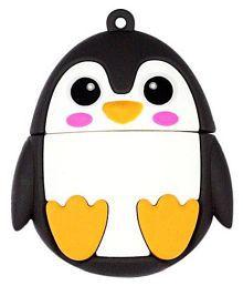 Pankreeti PKT496 Cute Penguin 16GB USB 2.0 Fancy Pendrive Pack of 1