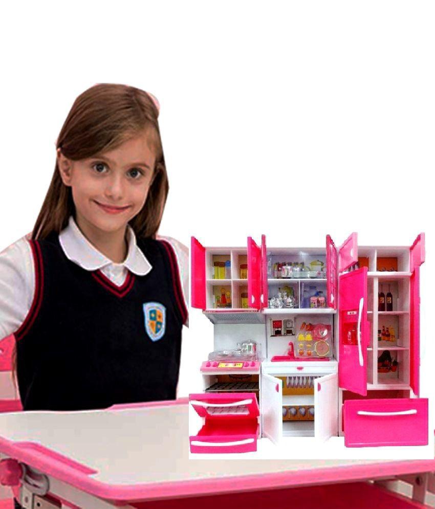 j k international modern plastic kitchen play set toy with rh snapdeal com