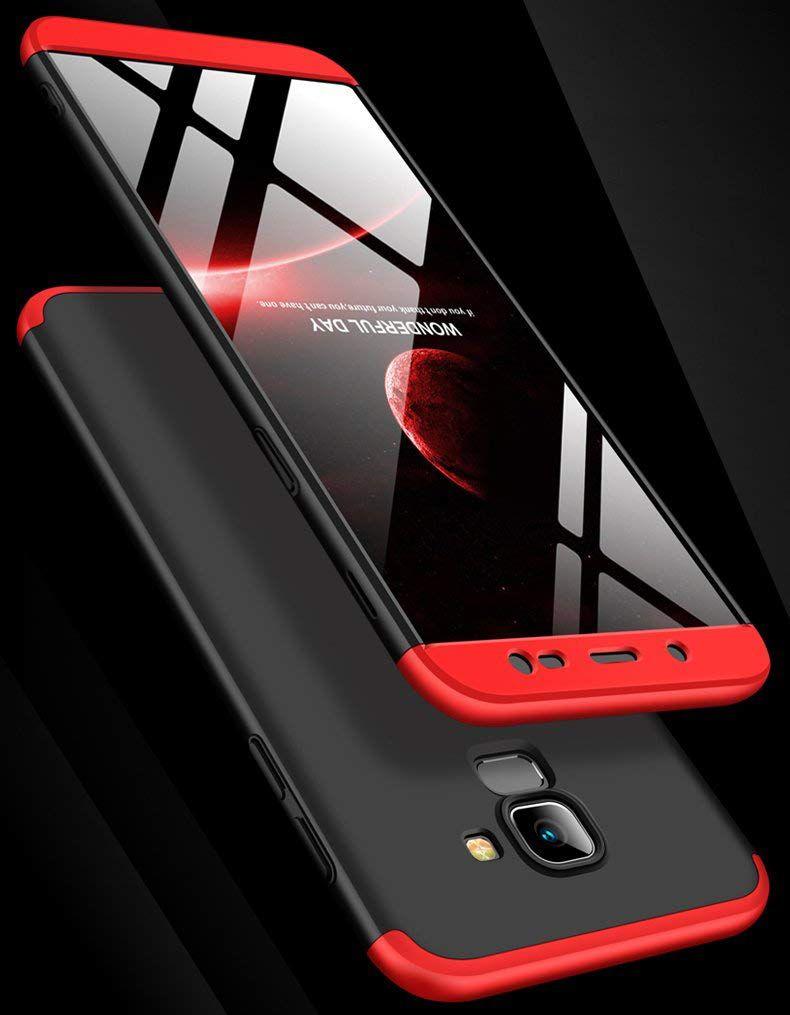 Samsung Galaxy J6 Plain Cases REGLET - Red