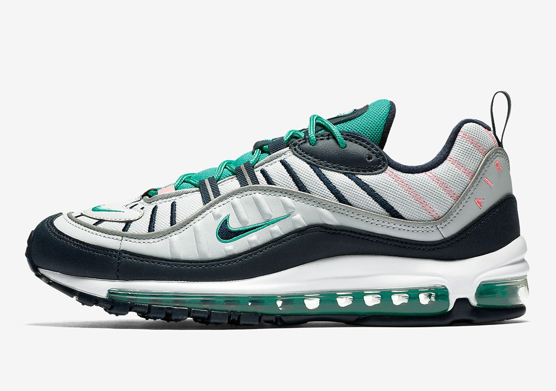 huge discount 4144e 52715 Nike Air Max 98 2018 Running Shoes Gray