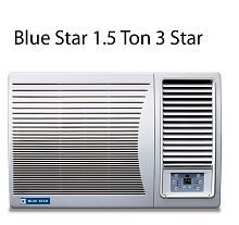Blue Star 1.5 Ton 3 Star 3W18GA / 3W18LC Window Air Conditioner(2016-17 BEE Rating)