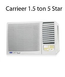 Carrier 1.5 5 Star Estrella Window Air Conditioner(2016-17 BEE Rating)
