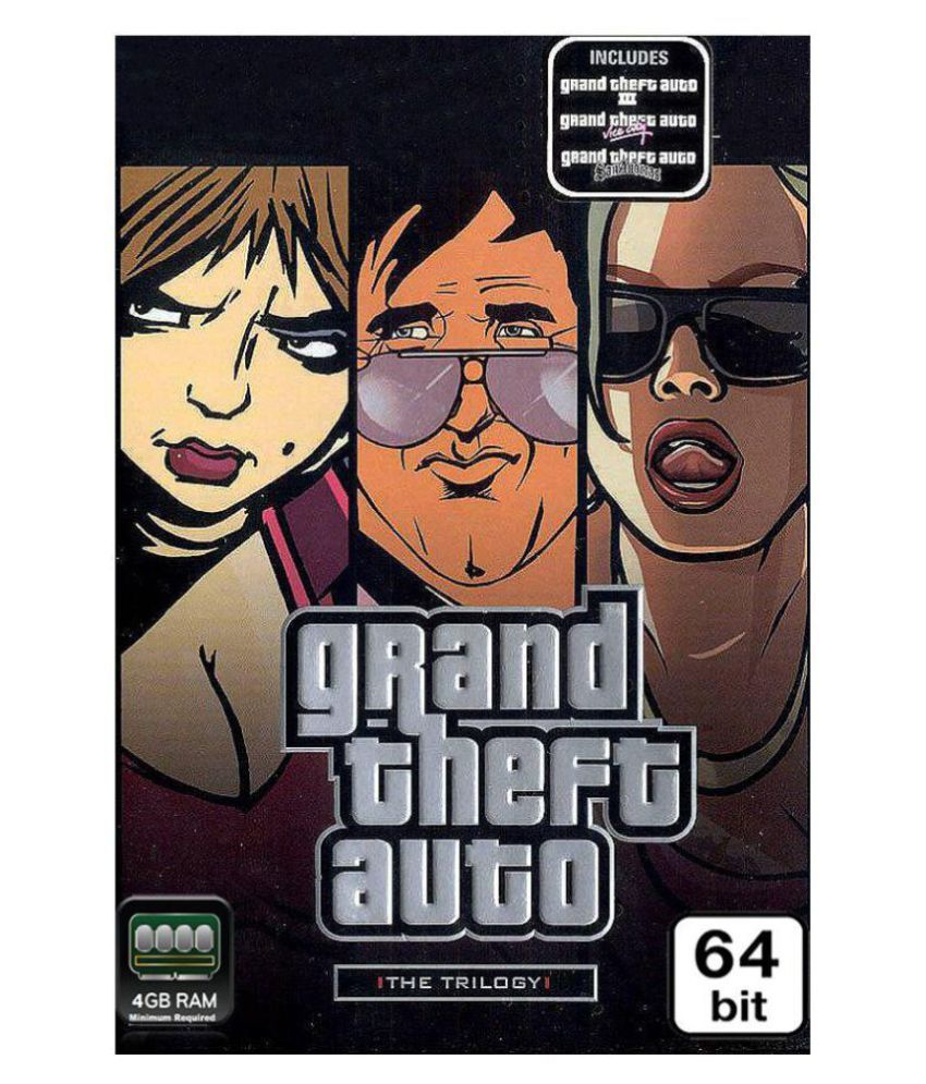 Grand Theft Auto Trilogy ( PC Game )
