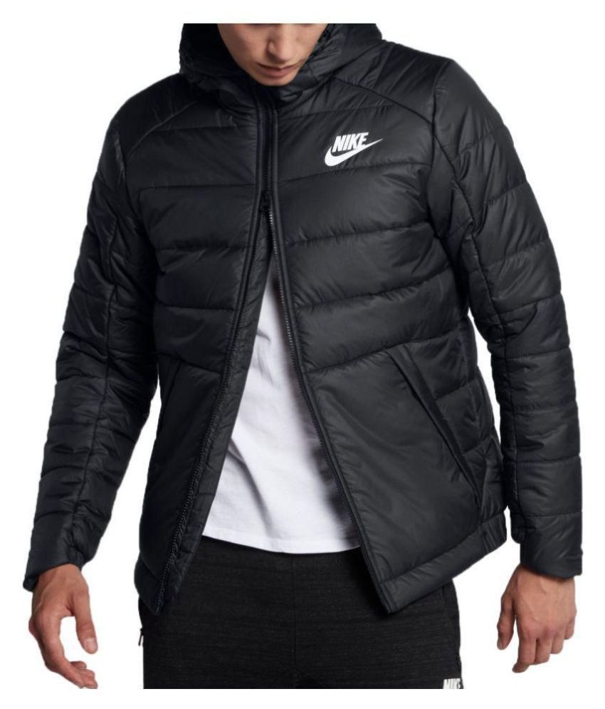 8fd989735c49 Nike Black Puffer Jacket - Buy Nike Black Puffer Jacket Online at Best  Prices in India on Snapdeal