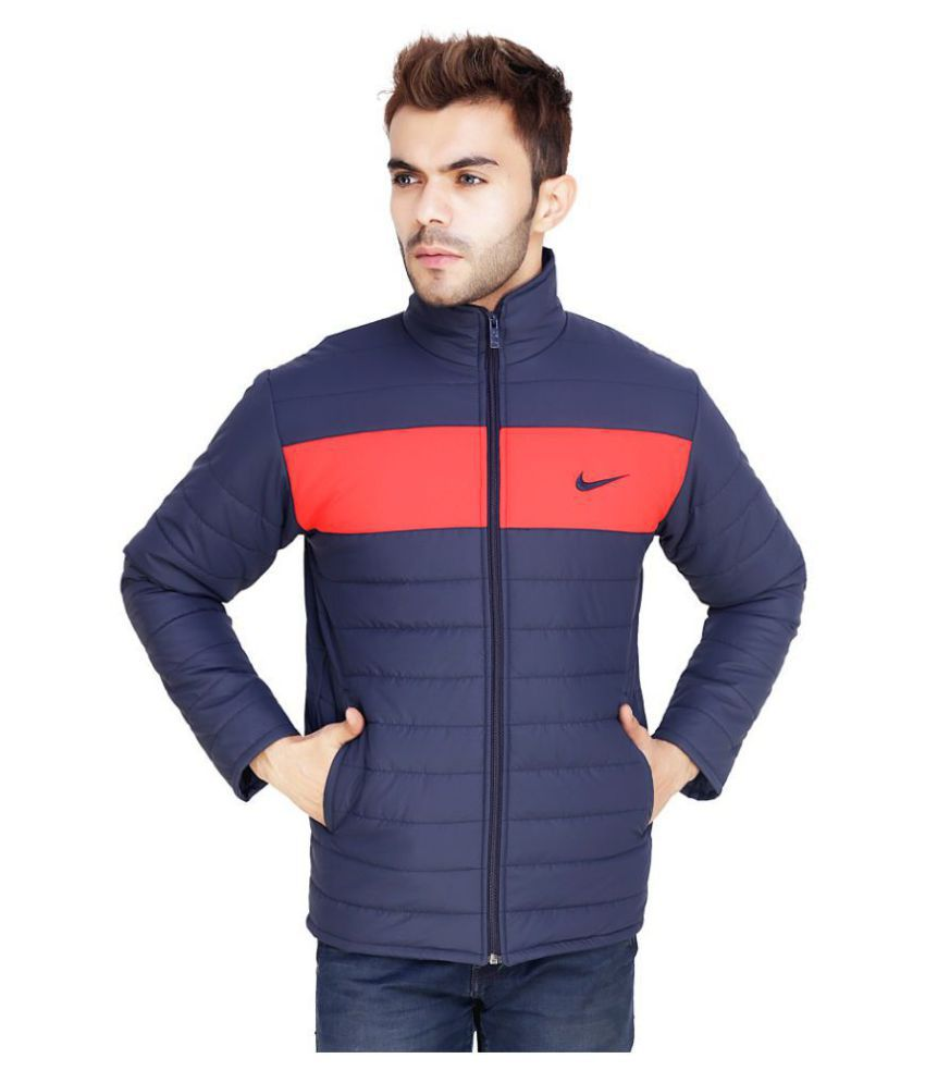 994edb30f756 Nike Blue Puffer Jacket - Buy Nike Blue Puffer Jacket Online at Best Prices  in India on Snapdeal
