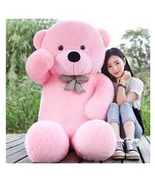 A TEDDY BEAR SOFT 4 FEET (PINK)