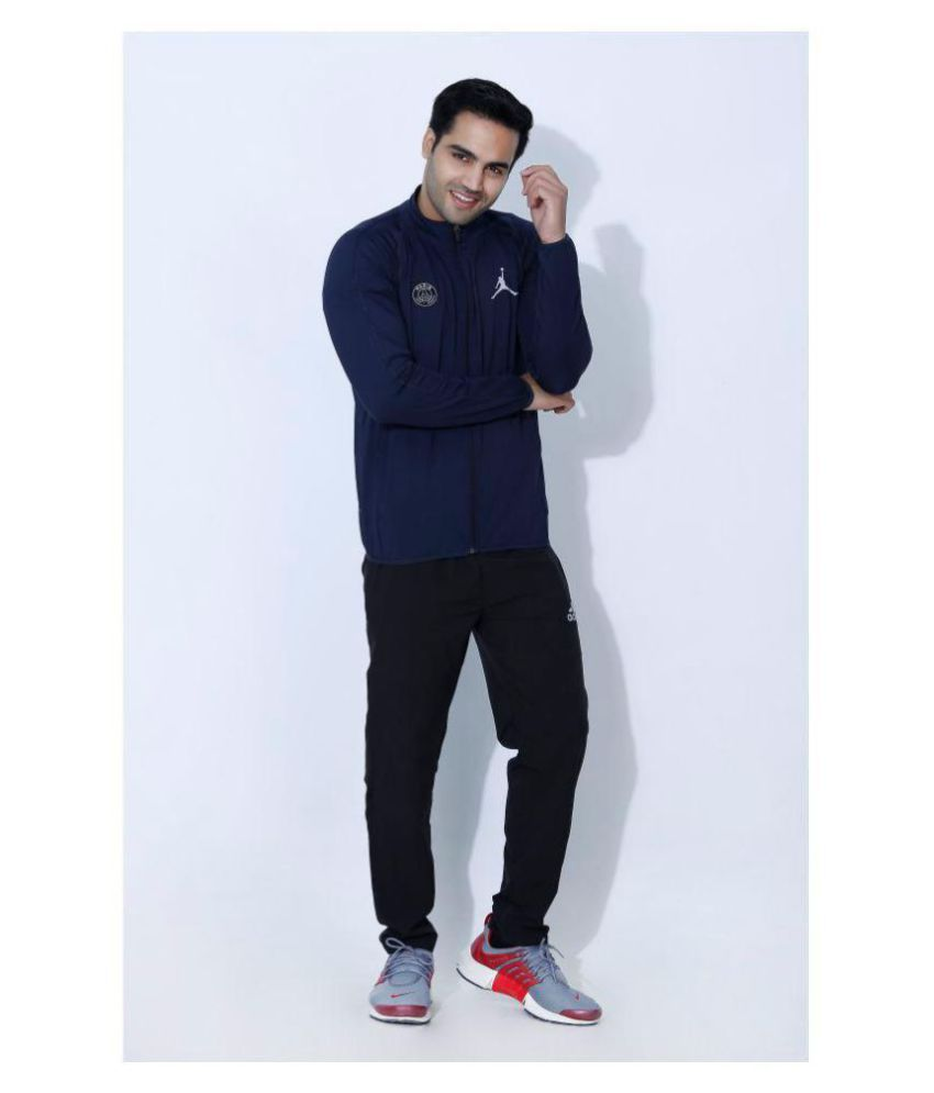 51449f917d9401 NIKE JORDAN Navy Polyester Terry Jacket - Buy NIKE JORDAN Navy Polyester  Terry Jacket Online at Low Price in India - Snapdeal