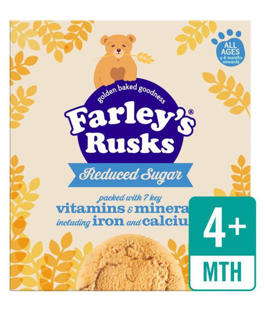 Heinz Heinz Farley's Rusks Reduced Sugar 300g Biscuits for 6 Months + ( 300 gm )