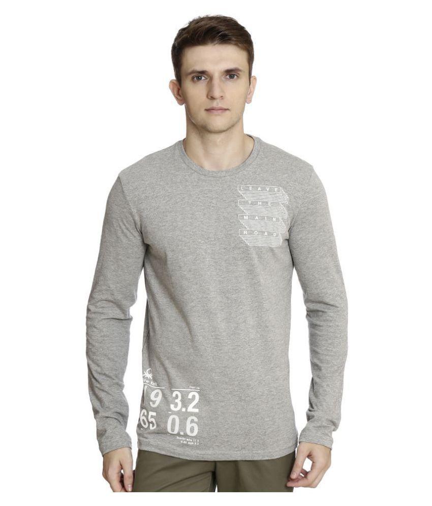 United Colors of Benetton White Full Sleeve T-Shirt