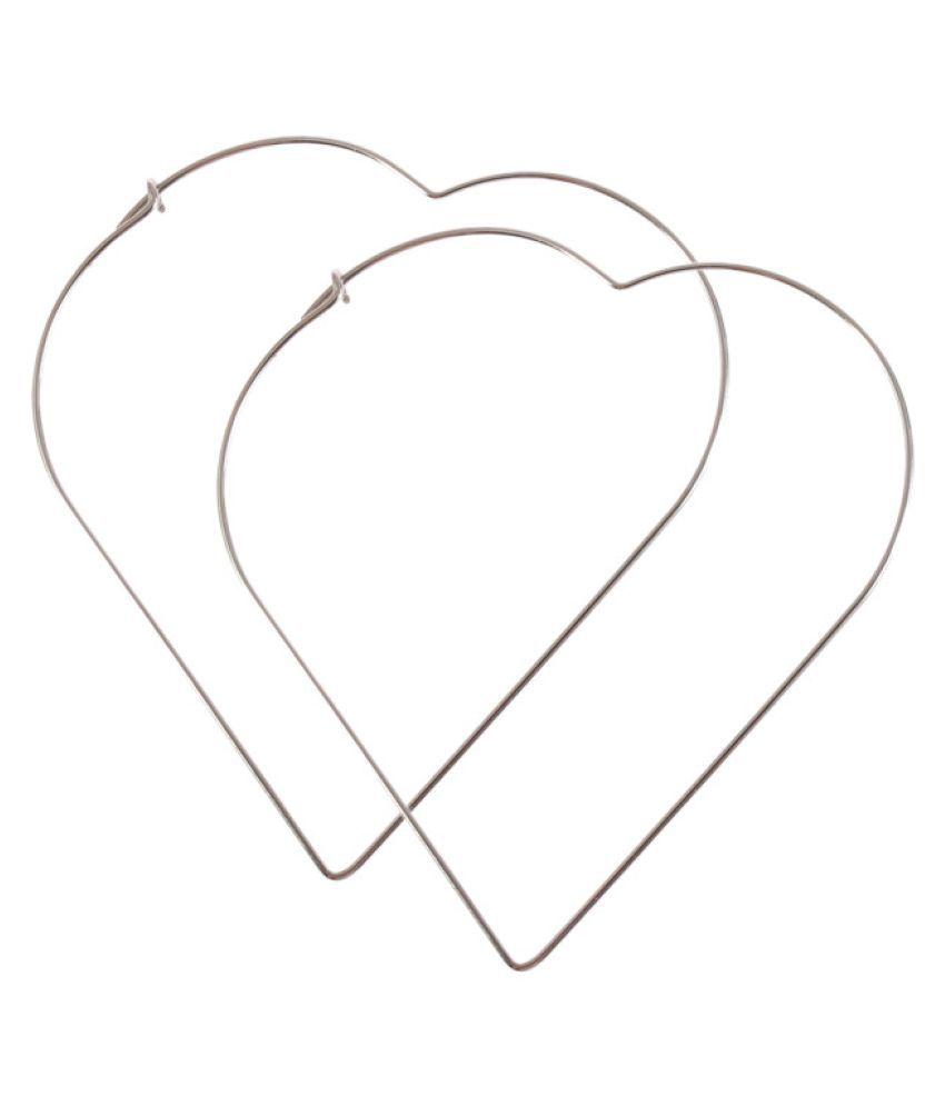 YOLO 1 Pair Silver Stud Earrings For Women Statement Jewelry