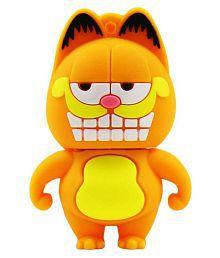 Pankreeti Garfield Cat 32GB USB 2.0 Fancy Pendrive Pack of 1