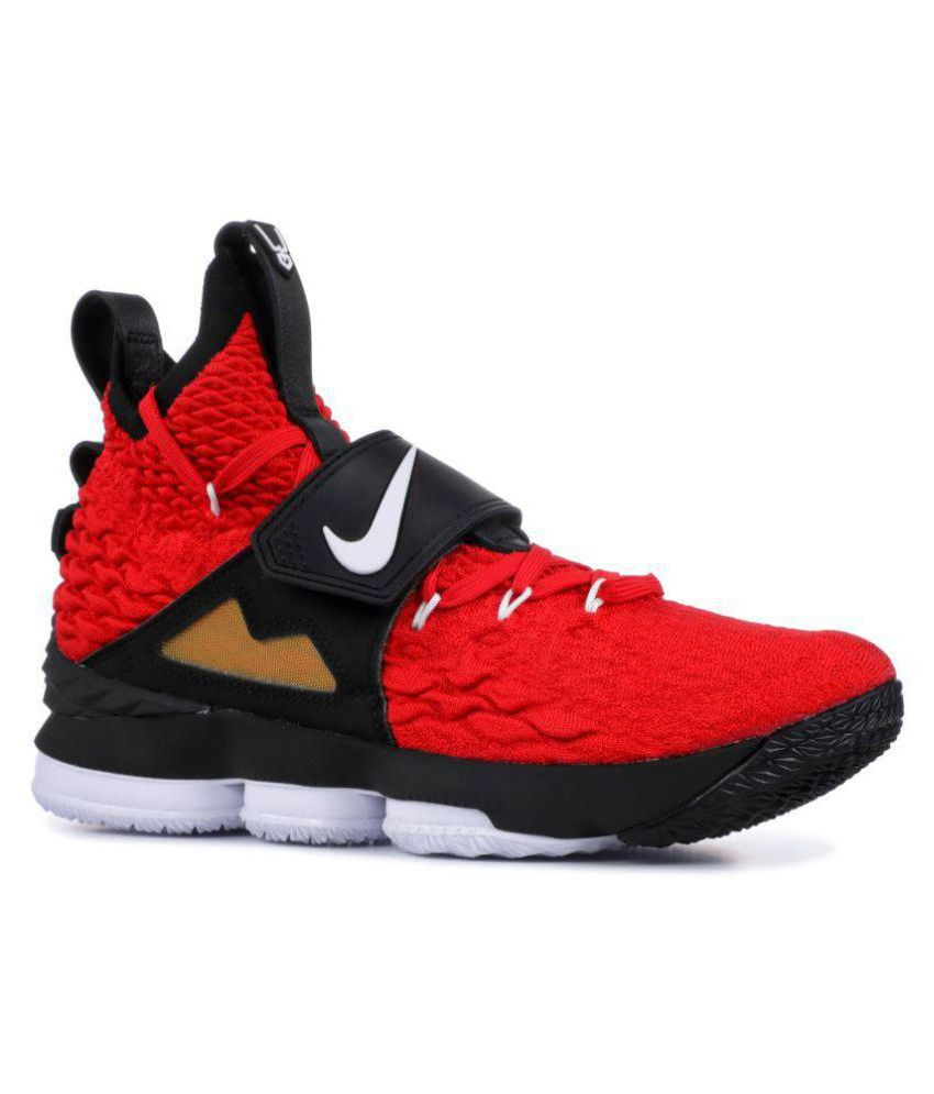 best sneakers 7ce8a f680c Nike LEBRON XV PRIME Red Basketball Shoes