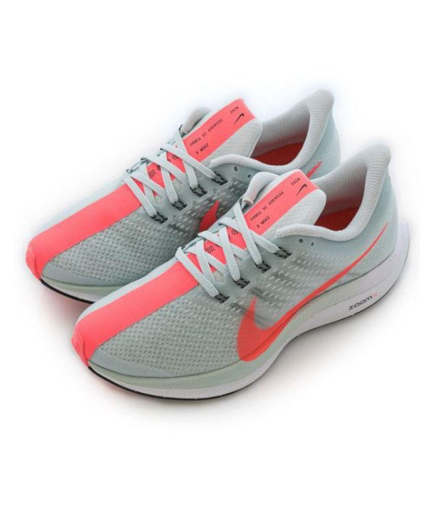 869919018740 Nike zoom x 35 pegasus turbo Running Shoes Gray  Buy Online at Best ...