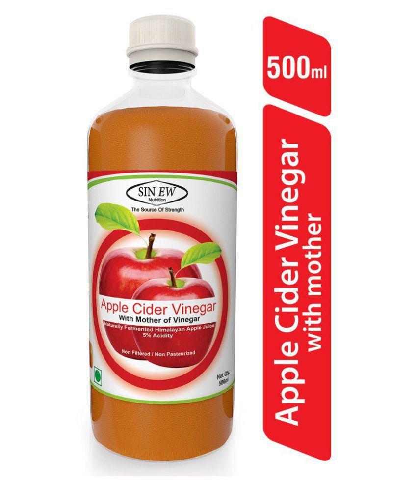 Sinew Nutrition Apple Cider Vinegar With Mother 500 ml Unflavoured
