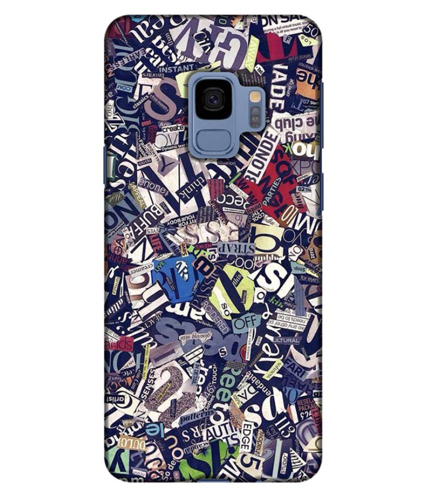classic fit f598e 9bc80 Samsung Galaxy S9 3D Back Covers By Printland - Printed Back Covers ...