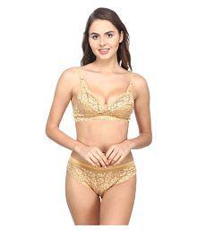 96fb3cc48 Gold Bra Panty Sets  Buy Gold Bra Panty Sets for Women Online at Low ...