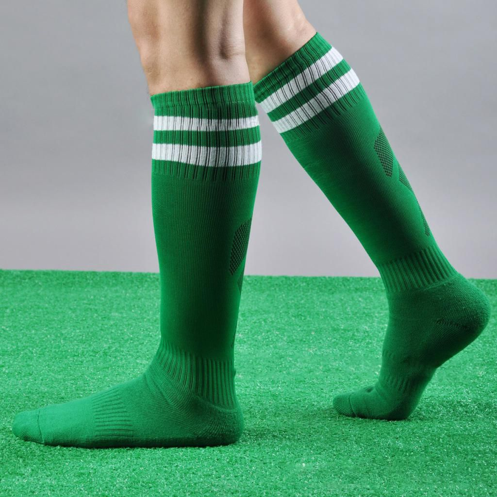 1e34dcd0fad Men Women Striped Over The Knee Football Thigh High Stockings Sport Long  Socks  Buy Online at Best Price on Snapdeal