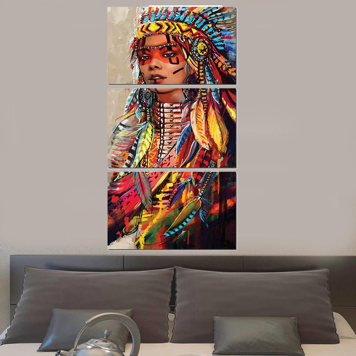 10Pcs Modern Art Oil Painting Canvas Print Wall Pictures Decor ...