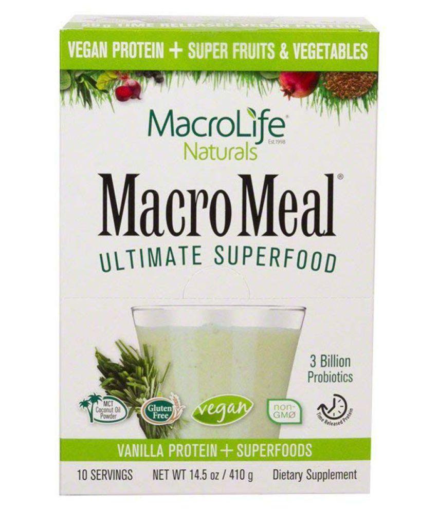 MACROLIFE NATURALS MacroMeal 10 no.s Meal Replacement Powder