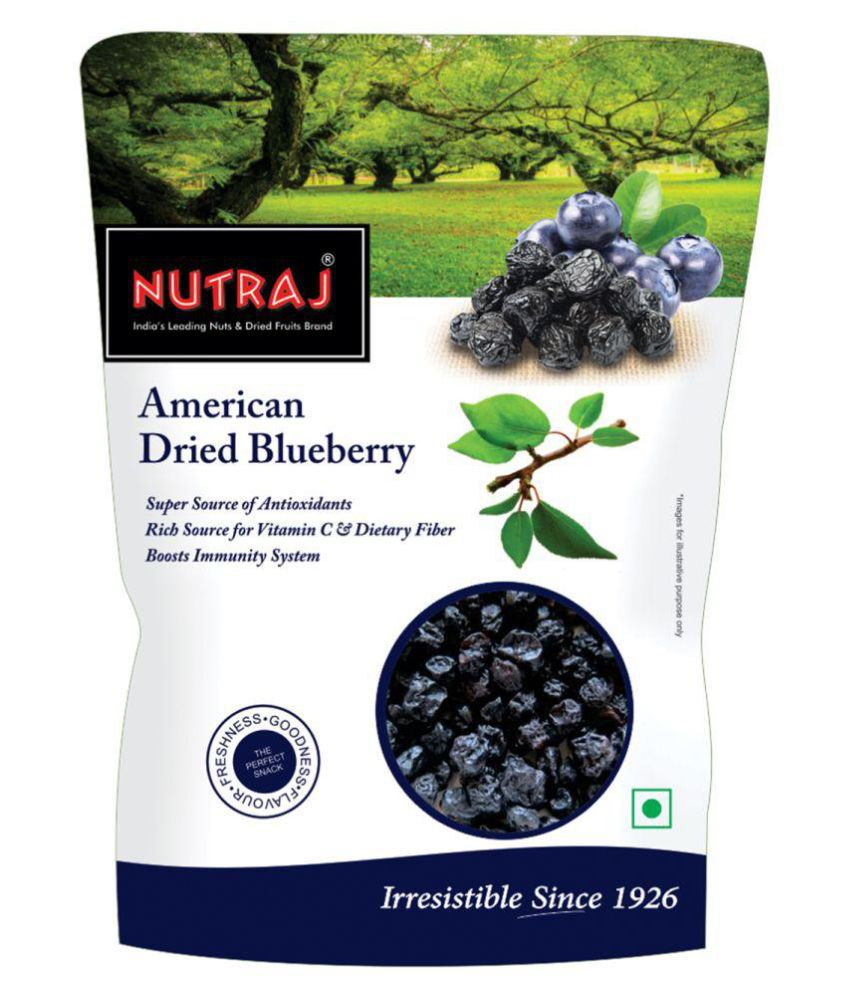 Nutraj Dried American Blueberries 800g (200g x 4)
