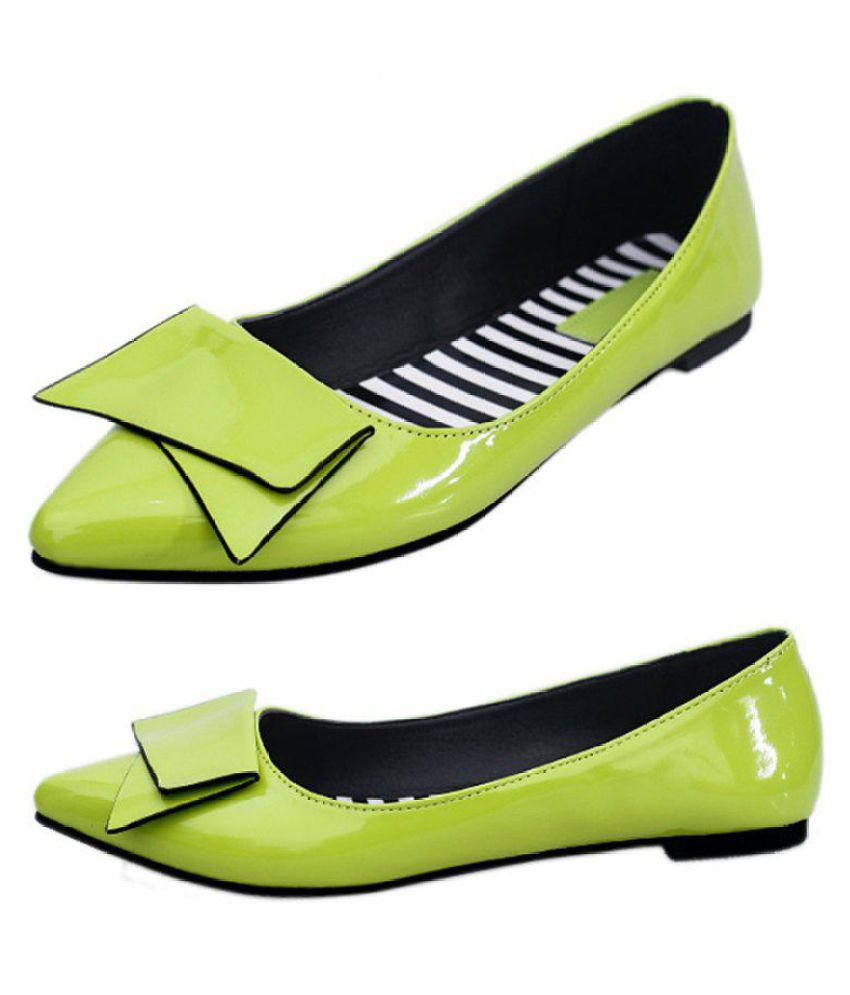 Generic Green Casual Shoes