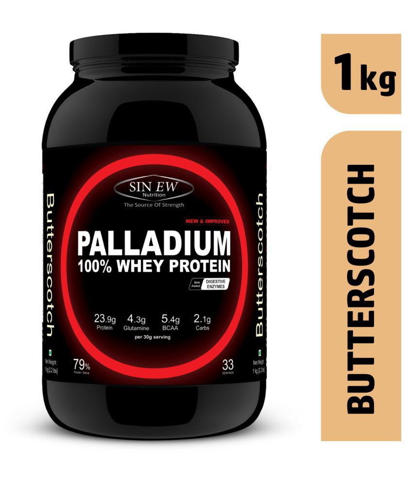 Sinew Nutrition Palladium Whey Protein (Butterscotch) 1 kg