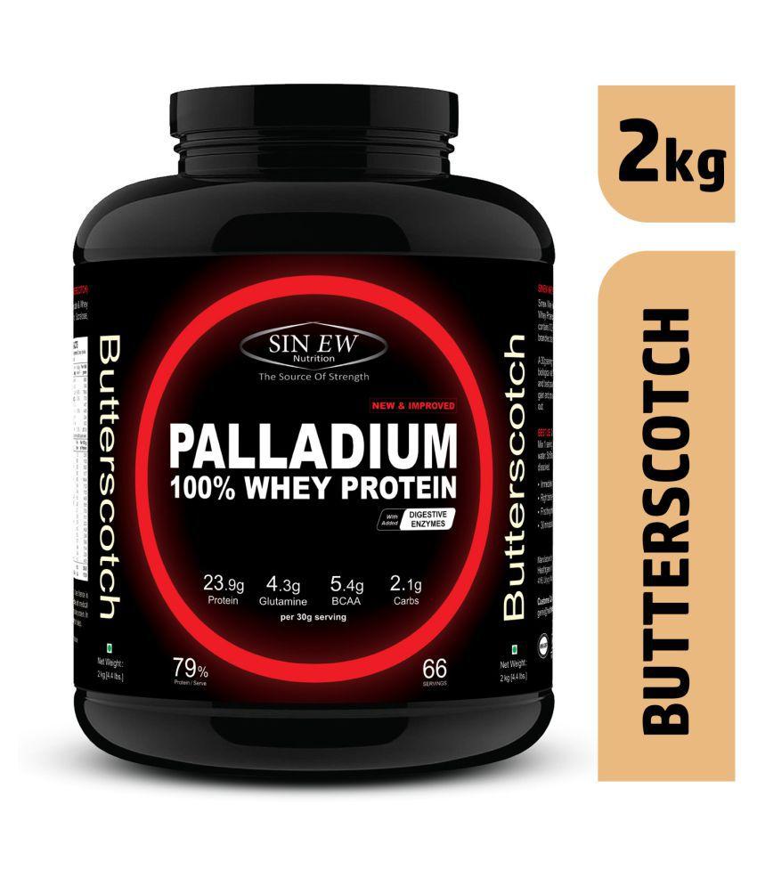 Sinew Nutrition Palladium Whey Protein (Butterscotch) 2 kg
