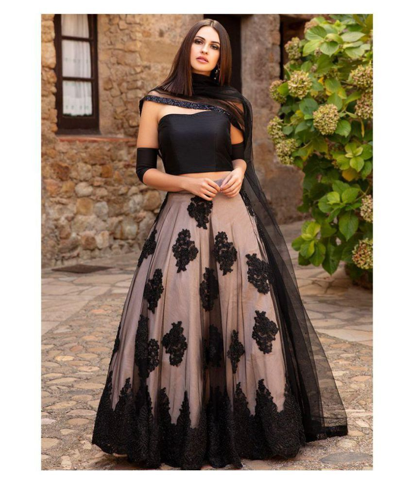 0ec2c6bfc83 Women Dresses Black Net Gown - Buy Women Dresses Black Net Gown Online at Best  Prices in India on Snapdeal