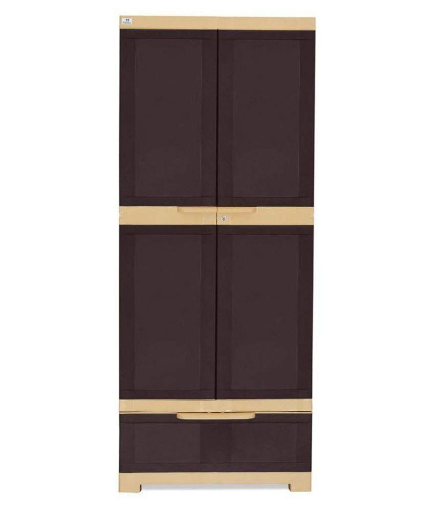 4b008ea79dd Nilkamal Freedom Plastic Cabinet Almirah wardrobe cupboard  Buy Online at  Best Price in India on Snapdeal
