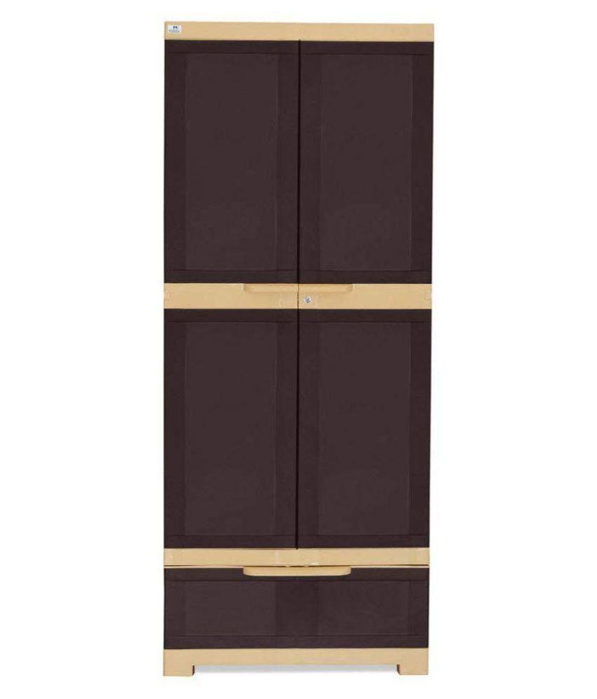 Kitchen Cabinets Price List: Nilkamal Freedom Plastic Cabinet/Almirah/wardrobe/cupboard