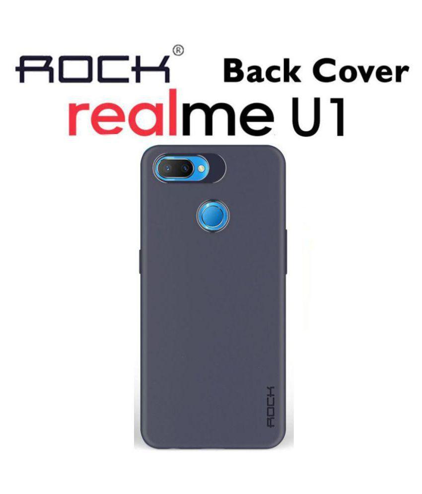 release date: f4383 29046 Realme U1 Plain Back Cover - Blue