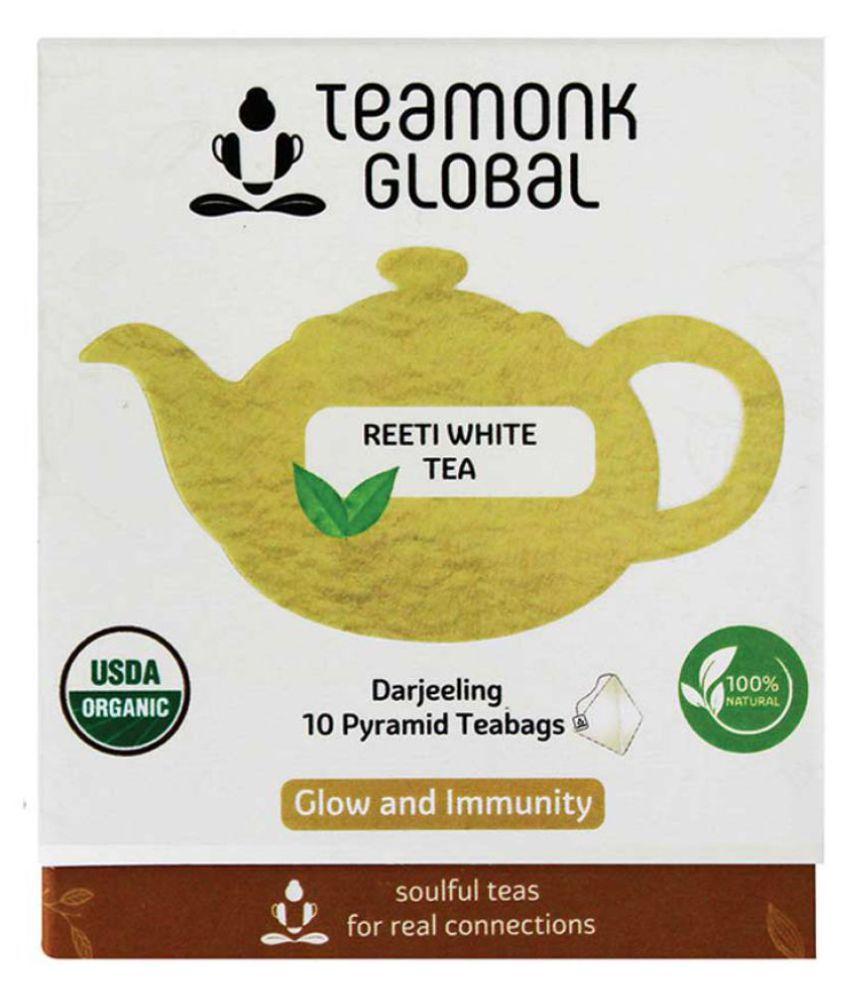 Teamonk Reeti Darjeeling White Tea, 10 Teabags
