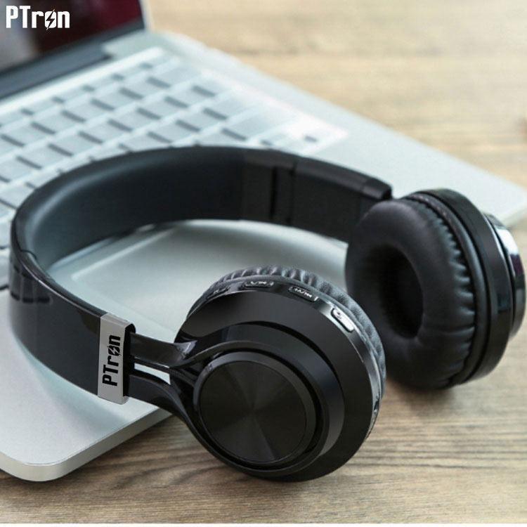 9a4fddcf8d9 PTron Kicks Bluetooth Headset - Black PTron Kicks Bluetooth Headset - Black  ...