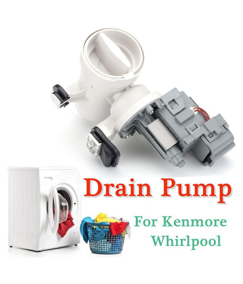 Washer Drain Water Pump Motor W10730972 8540024 W10130913 For Kenmore Whirlpool