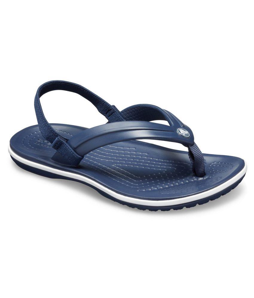 Crocs Crocband Strap Boys Blue Flip