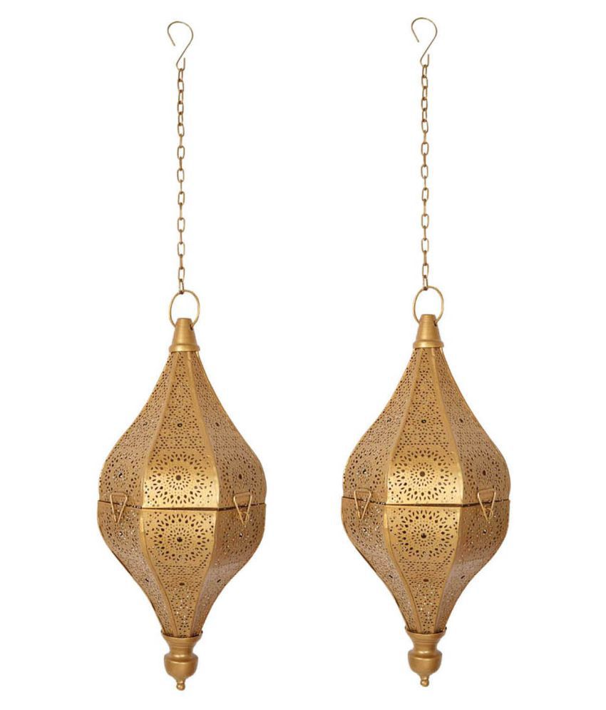 Lal Haveli 30W Round Ceiling Light 33 cms. - Pack of 2