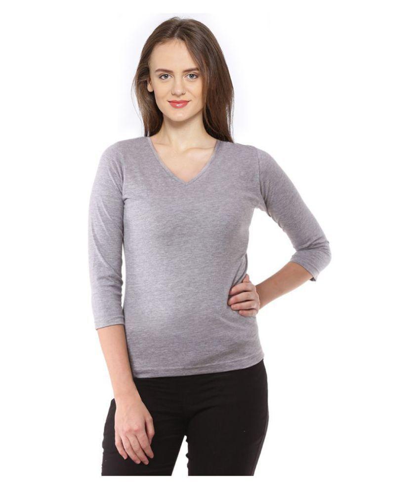 Magrechee Cotton Grey T-Shirts