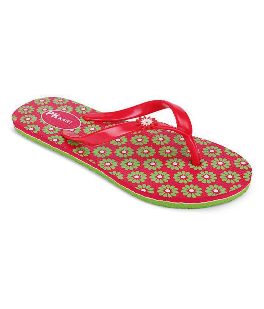 PKKART Green Slippers