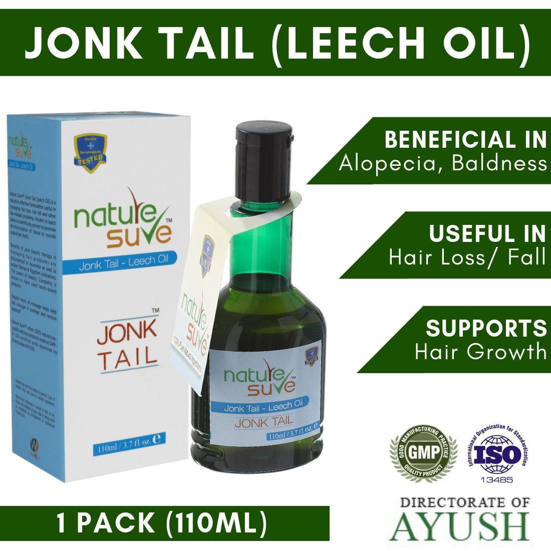 Nature Sure Jonk Tail (Leech Oil) Carrier Oil 110 mL