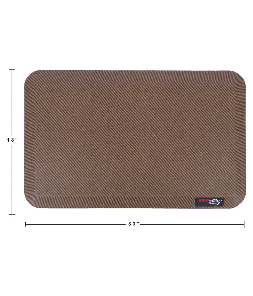 Duro COMFORT Just Relax Brown Single Floor Mat