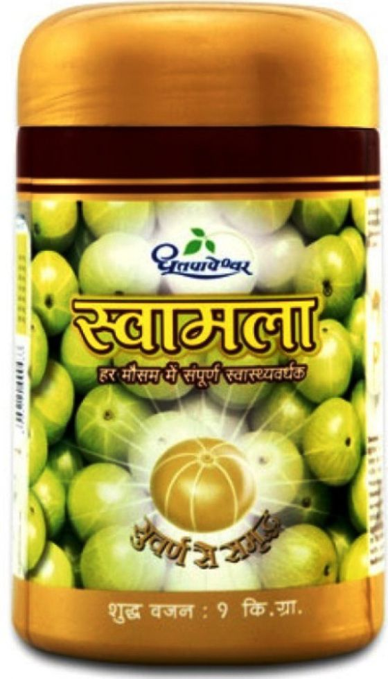 Dhootapapeshwar SWAMALA CHYAWANPRASH ENRICHED WITH GOLD Paste 1 kg Pack Of 1