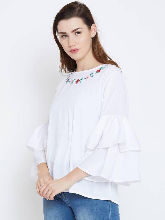Bombay Clothing Company Cotton Tunics - White