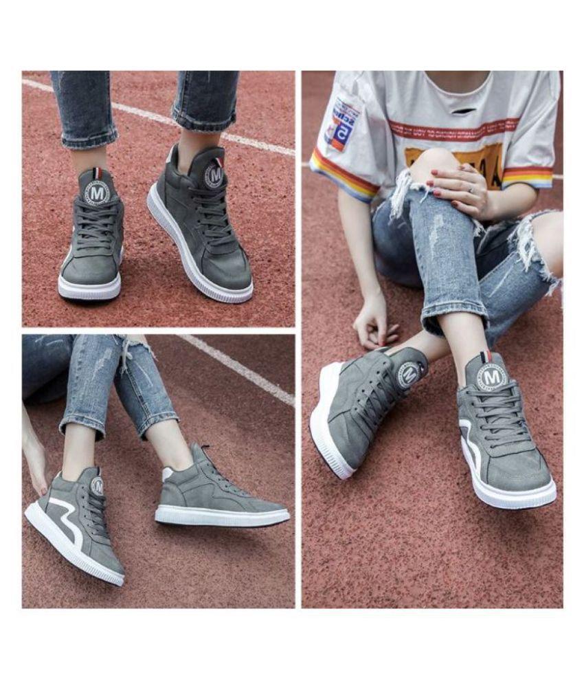 Trenduty Gray Casual Shoes