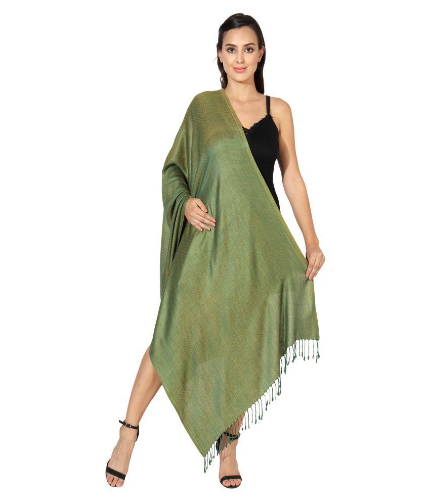 MUFFLY Green Shawl