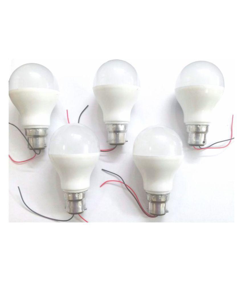 Rukmini 7W Solar Bulb - Pack of 5